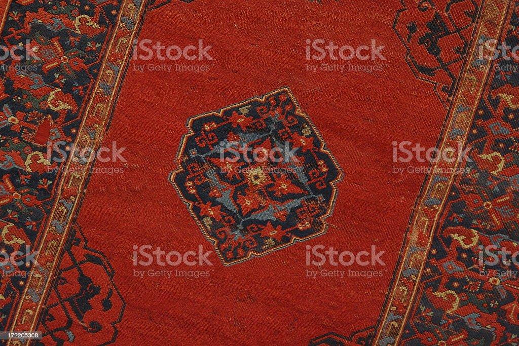 Oriental Rug royalty-free stock photo