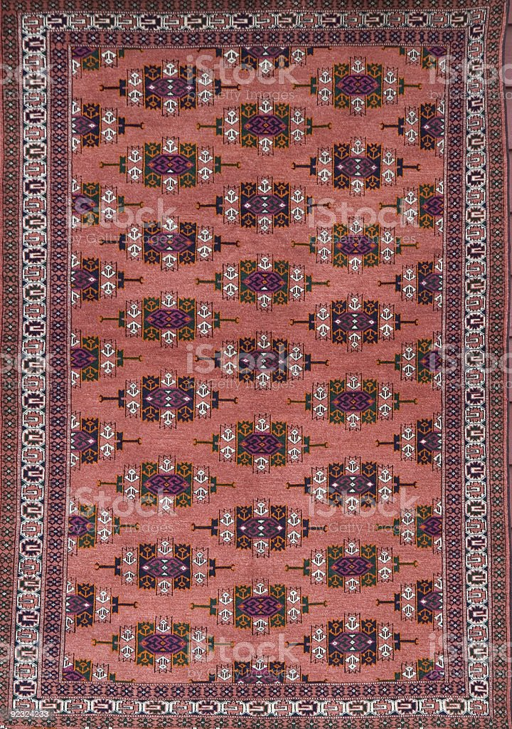 Oriental Rug royalty-free stock photo