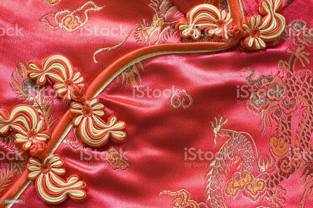 oriental silk fabric royalty-free stock photo