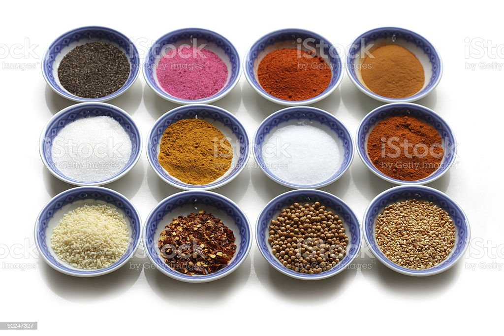 Oriental Spices royalty-free stock photo