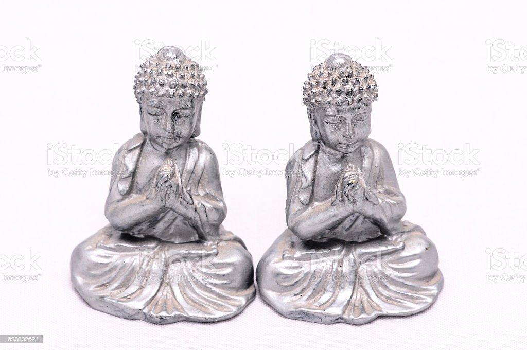 Oriental Statue stock photo