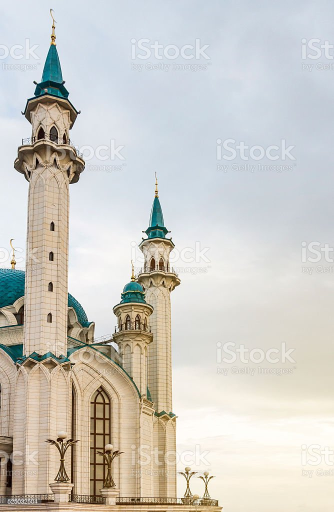 Oriental style architecture stock photo