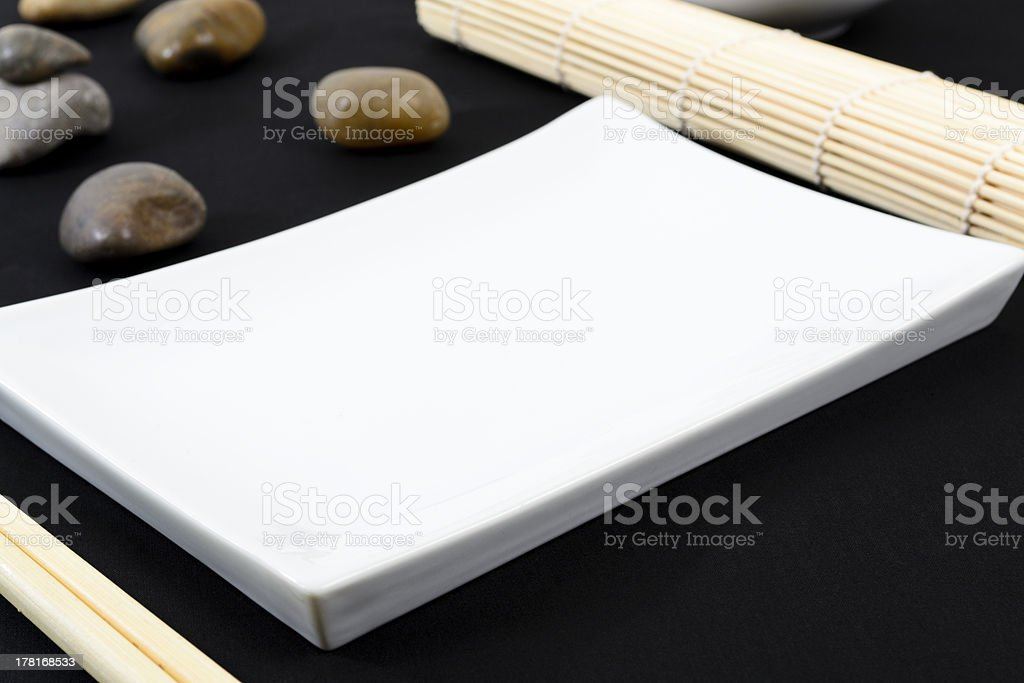 Oriental Table Set-Up stock photo