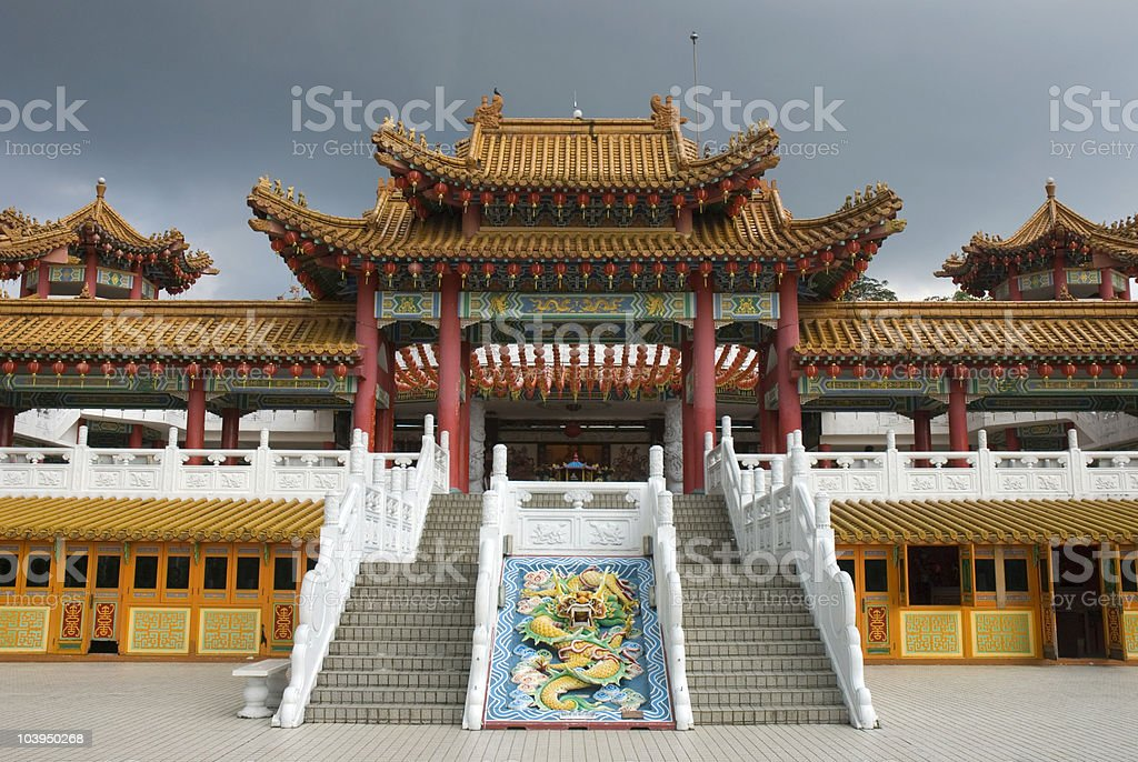 Oriental temple royalty-free stock photo