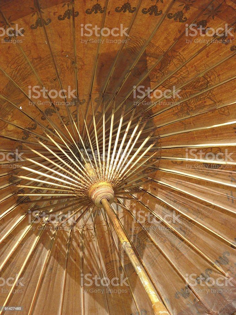Oriental Umbrella royalty-free stock photo