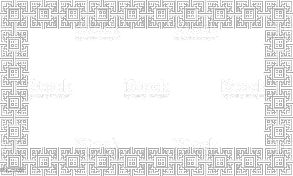 Oriental Wall Background with copyspace stock photo
