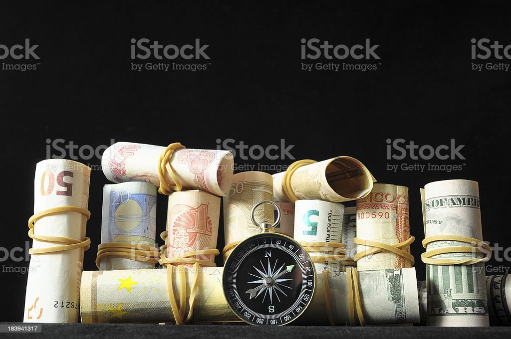 Orientation in  Business royalty-free stock photo