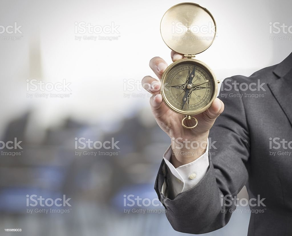 Orientation in the business royalty-free stock photo