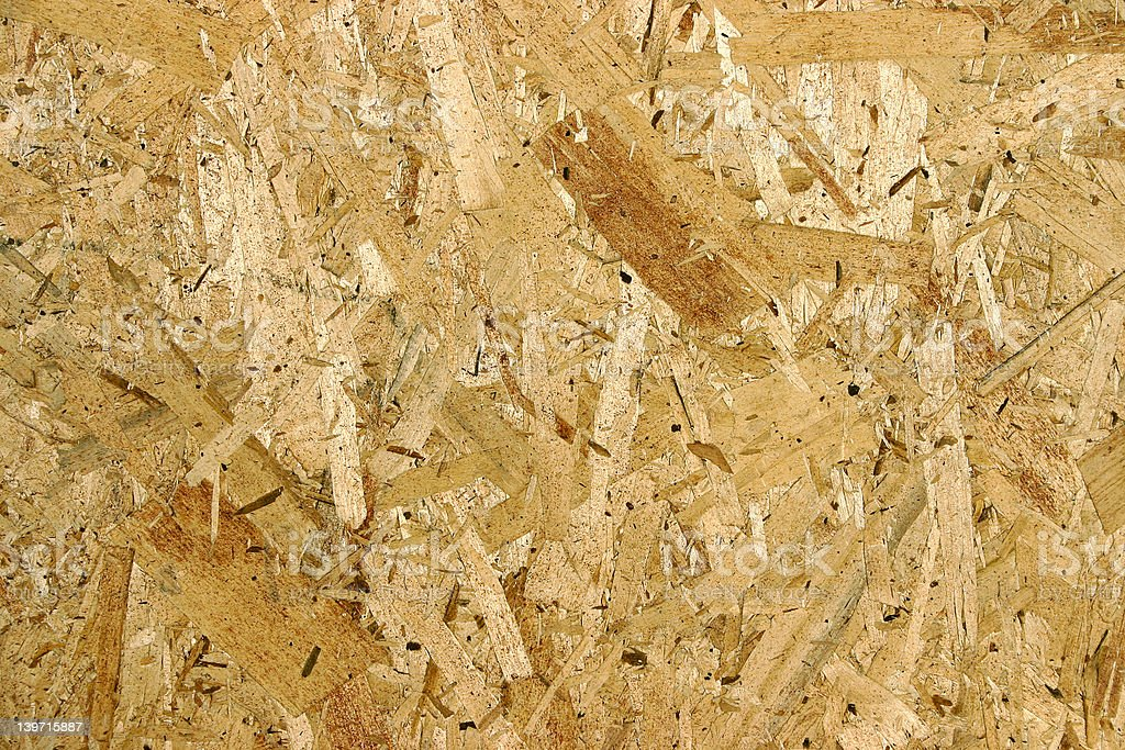 Oriented Strand Board (OSB) royalty-free stock photo