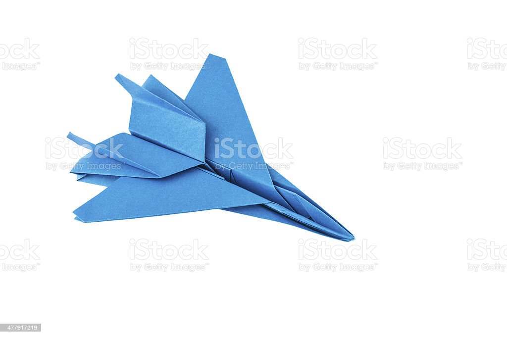 F-15 Eagle Paper Airplane : Folding Instructions | 683x1024