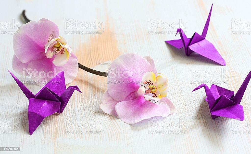 Origami royalty-free stock photo