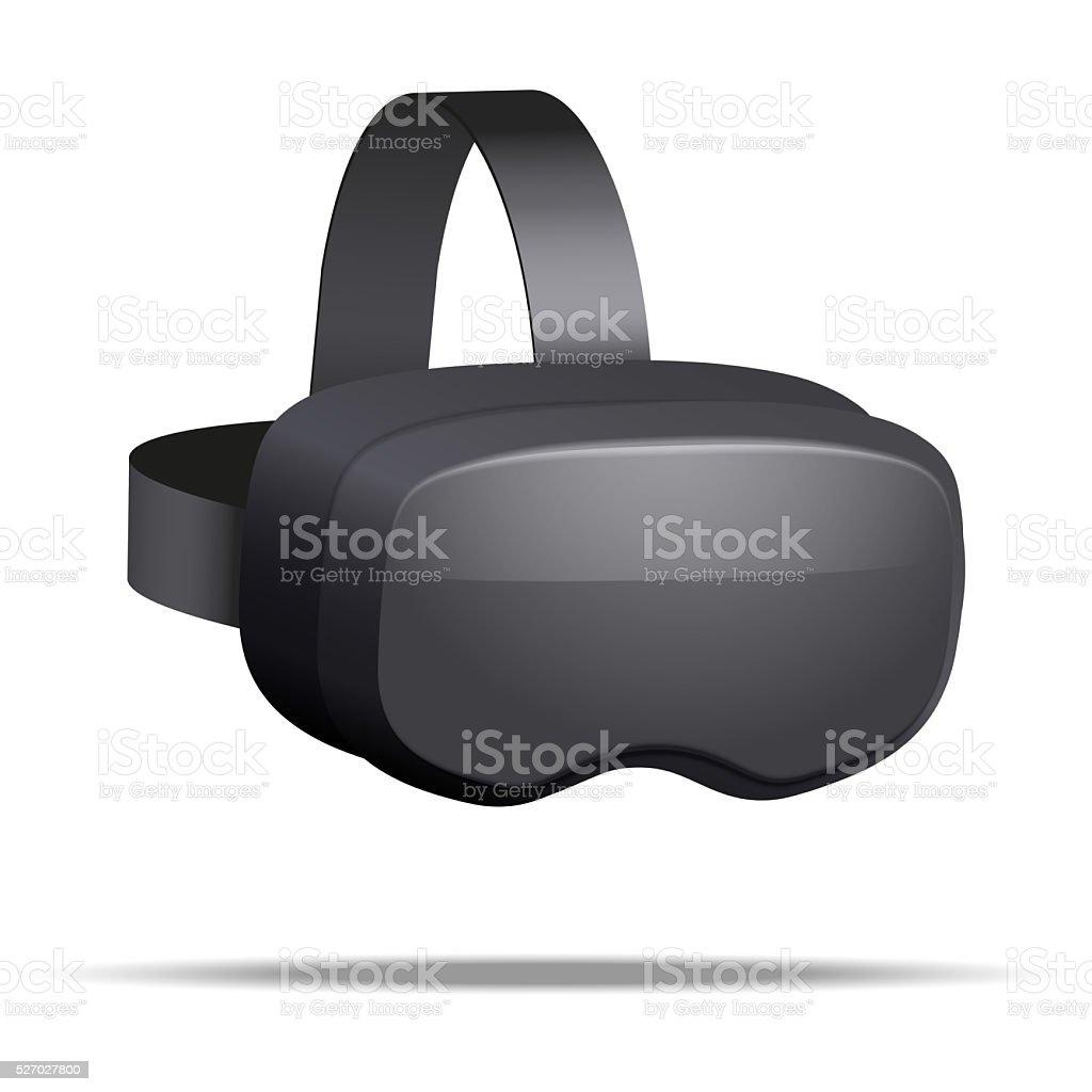Original 3d VR headset stock photo