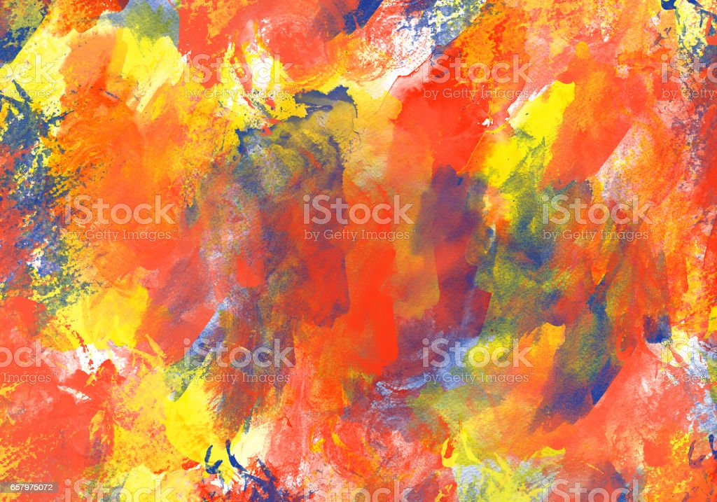 Original art texture watercolor paint drops stains abstract expressionism vector art illustration