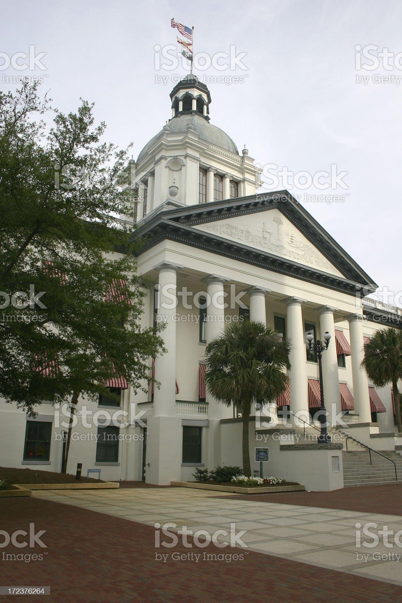 Original Florida State Capital Building royalty-free stock photo