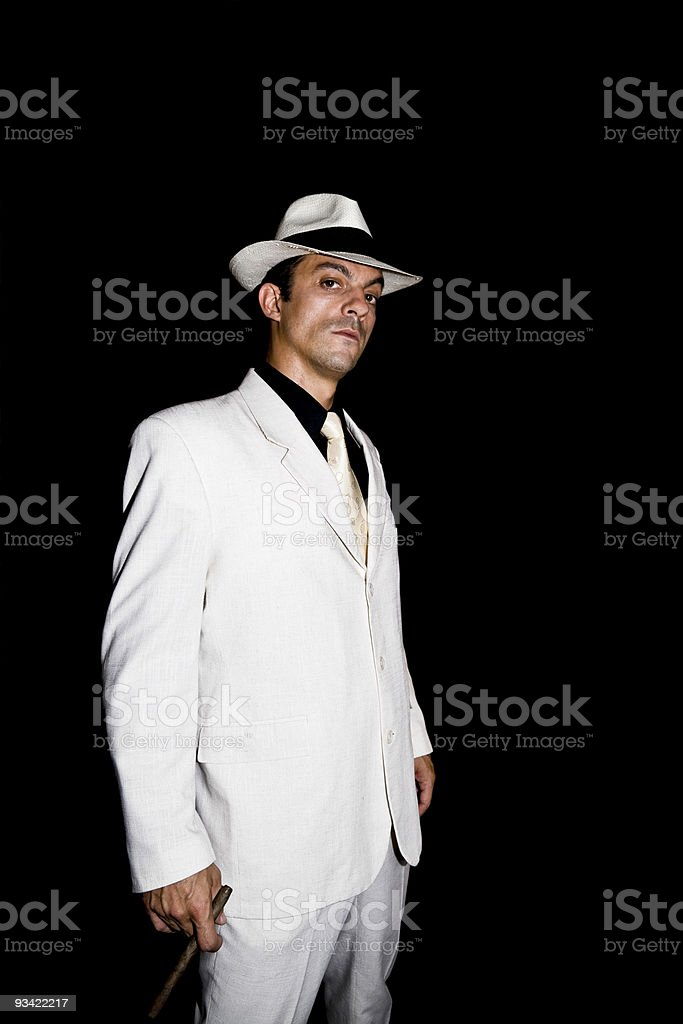 original gangster royalty-free stock photo