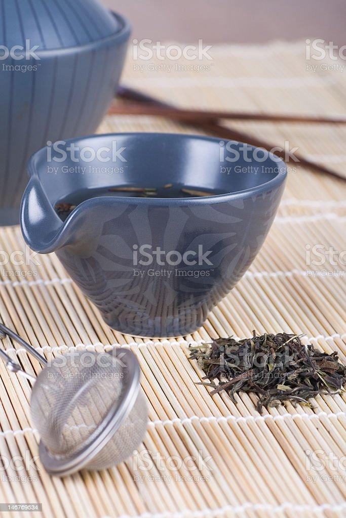 Original Green Tea royalty-free stock photo