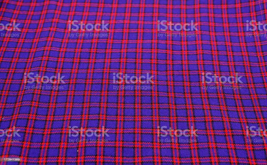 Original Maasai Clothes royalty-free stock photo