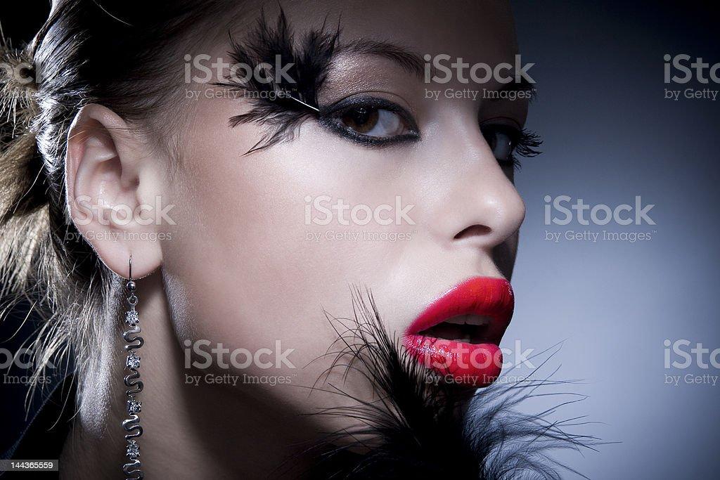 original make-up royalty-free stock photo