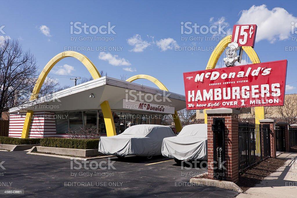 Original McDonald's Franchise royalty-free stock photo