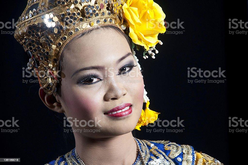 Thai Taniec oryginalny zbiór zdjęć royalty-free