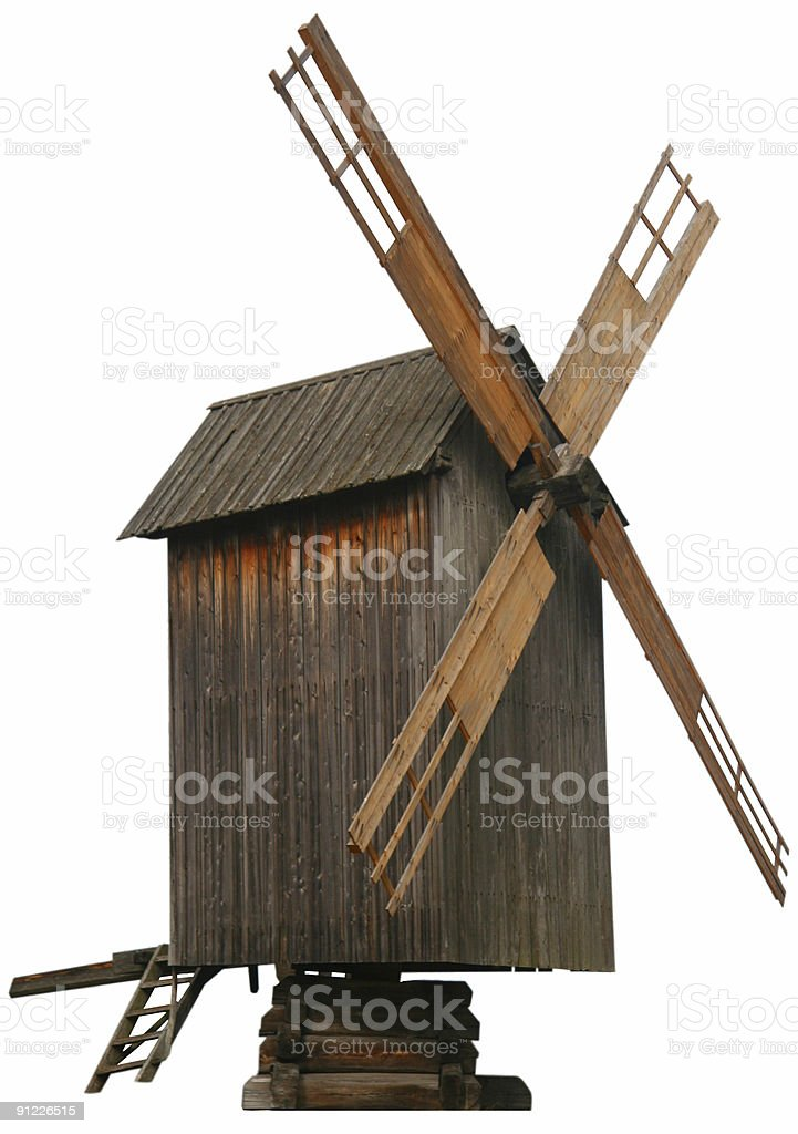 original windmill stock photo