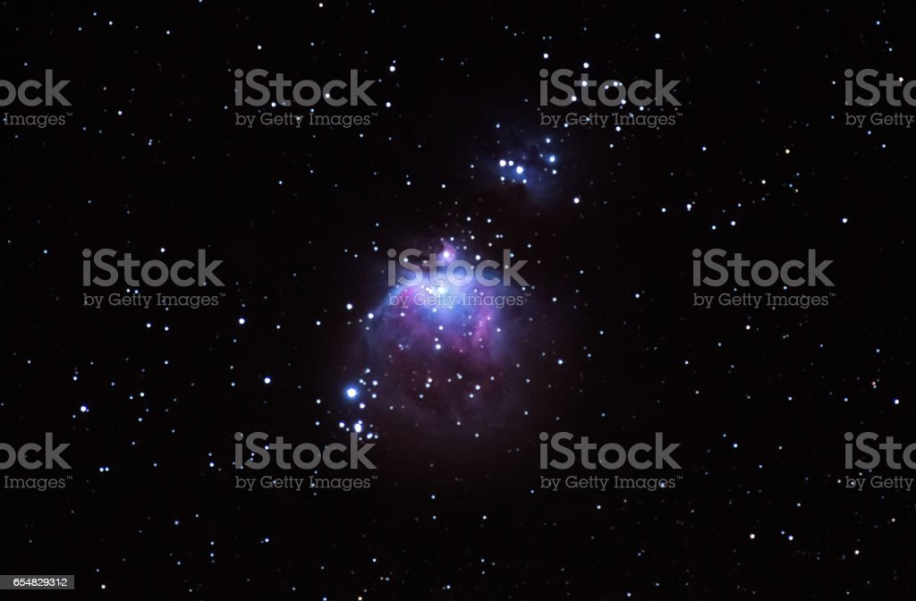 Orion constellation stock photo