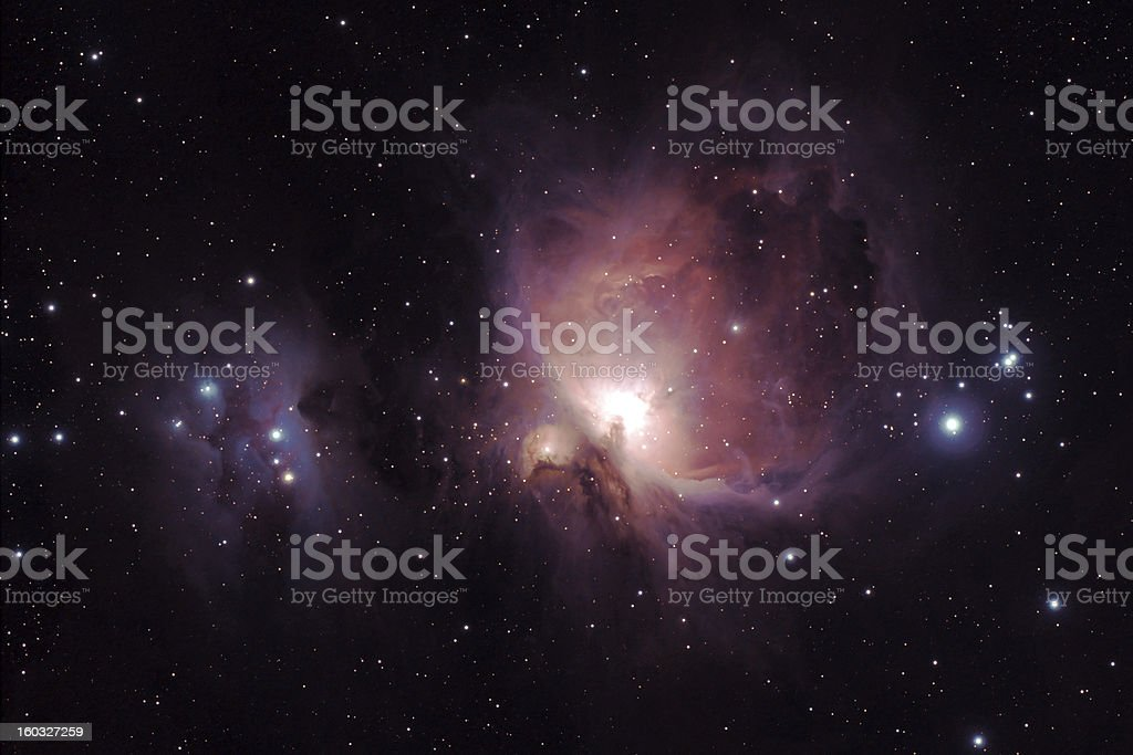 Orion Nebula - M42 stock photo