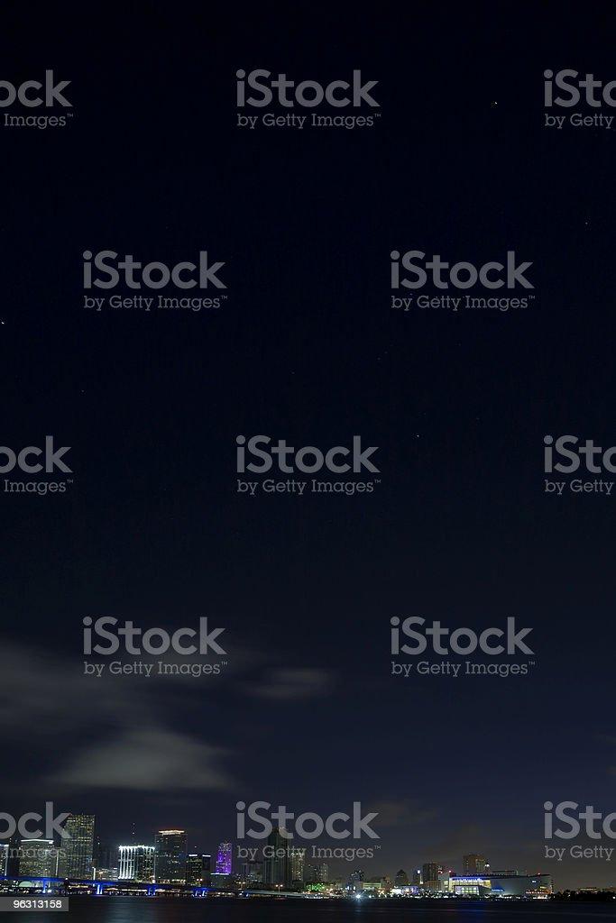 Orion over Miami (XL) royalty-free stock photo