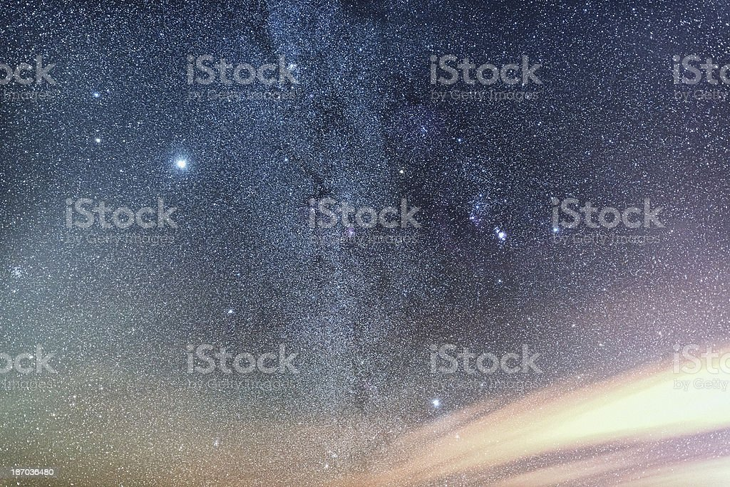 Orion Widefield stock photo