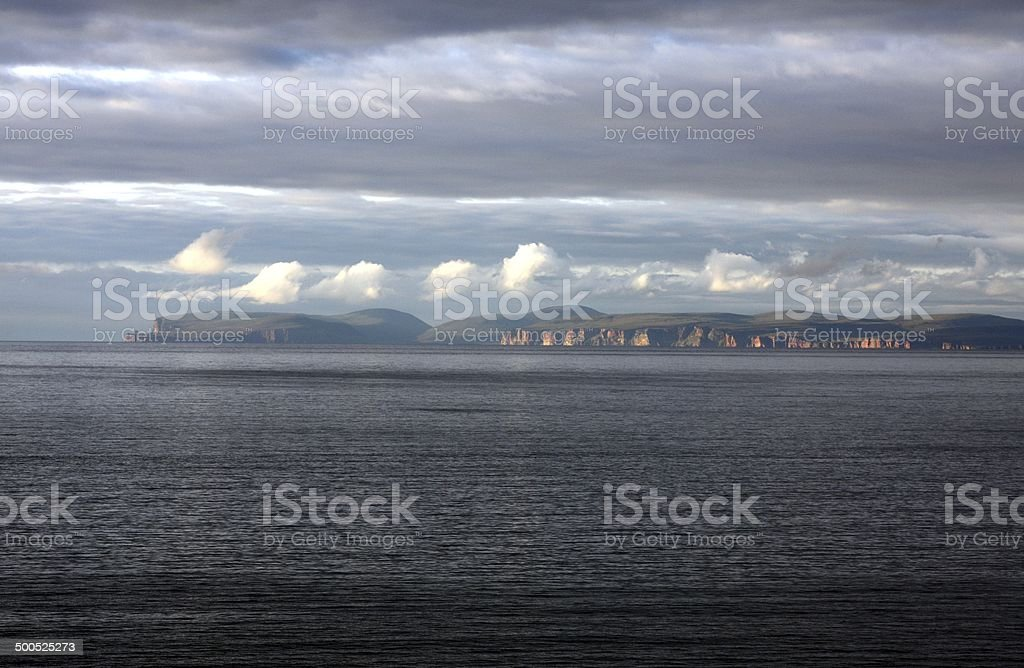 Orkney from the Mainland stock photo