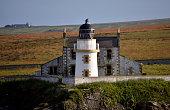 Orkney Island lighthouse