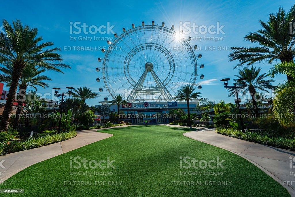 Orlando Eye stock photo