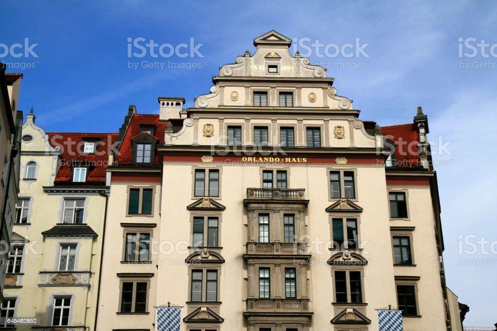 Orlando house in Munich, Germany stock photo