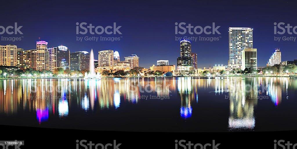 Orlando panorama royalty-free stock photo