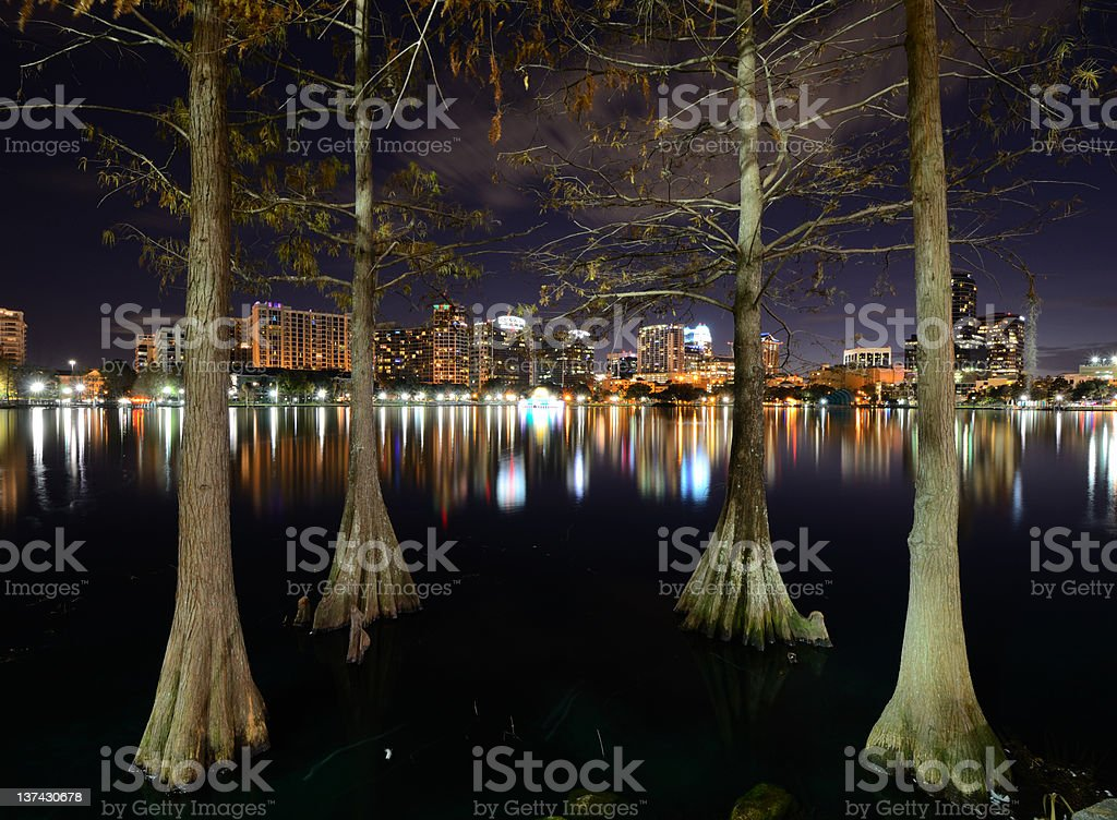 Orlando Skyline royalty-free stock photo