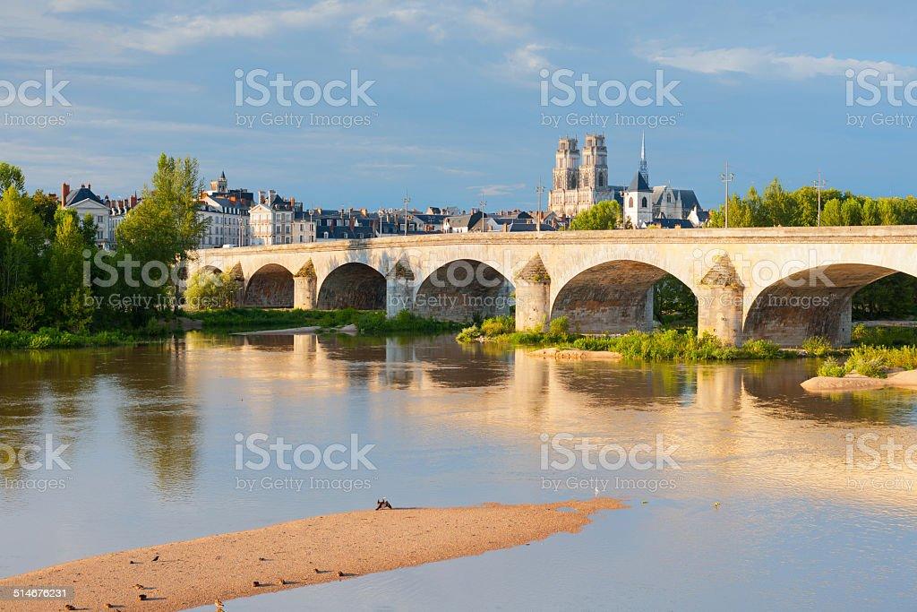 Orleans at a summer day stock photo