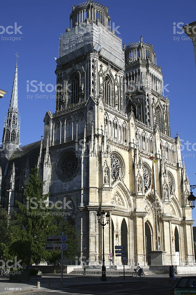 Catedral de Orleans royalty-free stock photo