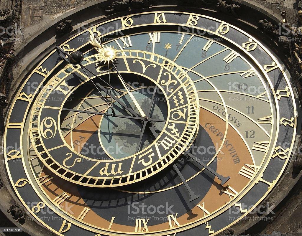 Orloj - Prague Astronomical Clock royalty-free stock photo