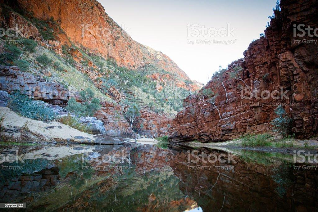 Ormiston Gorge stock photo