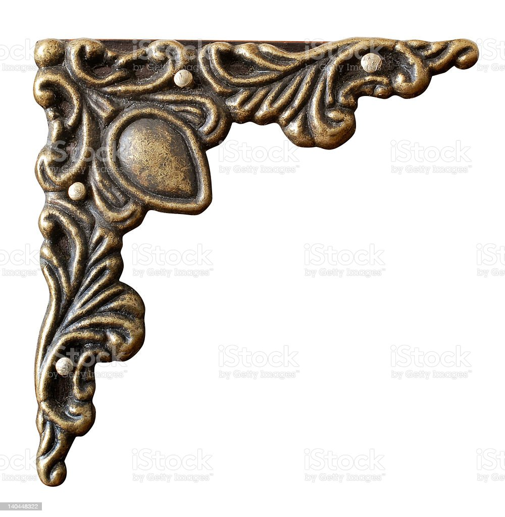 ornament with clipping path royalty-free stock photo