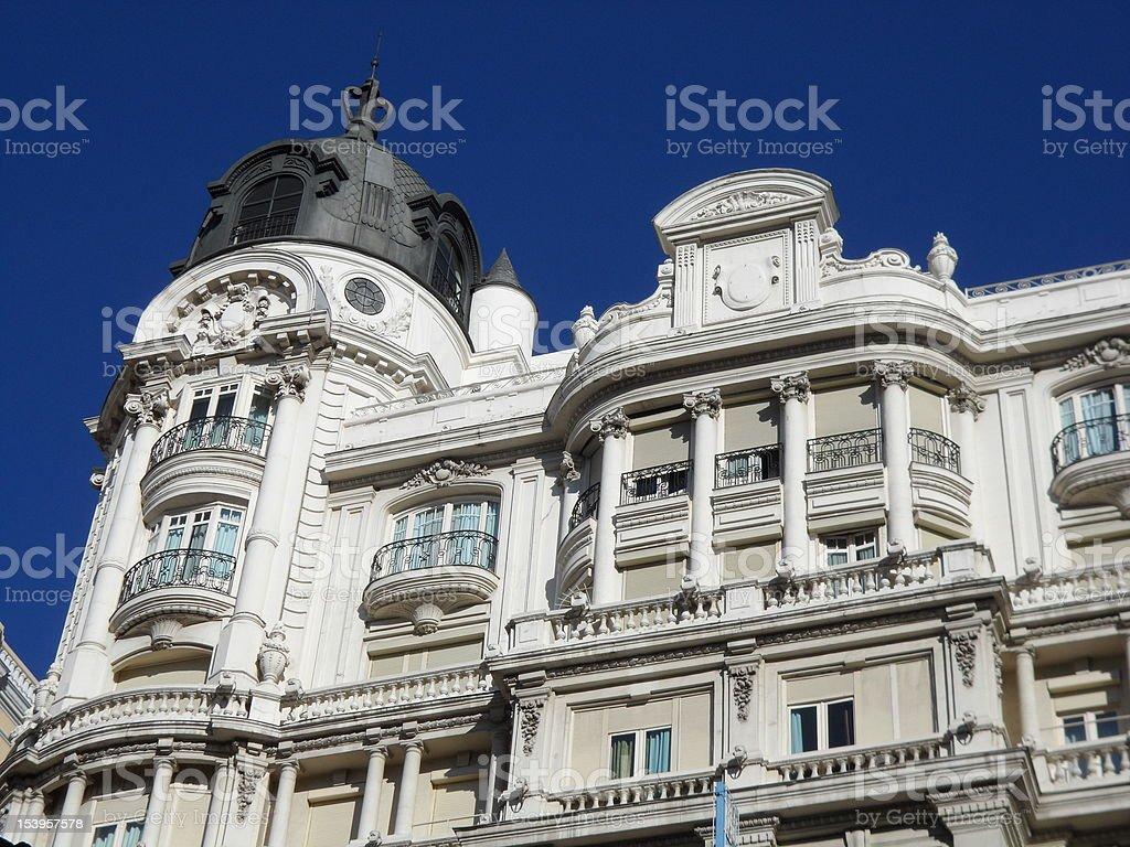 Ornamental building stock photo