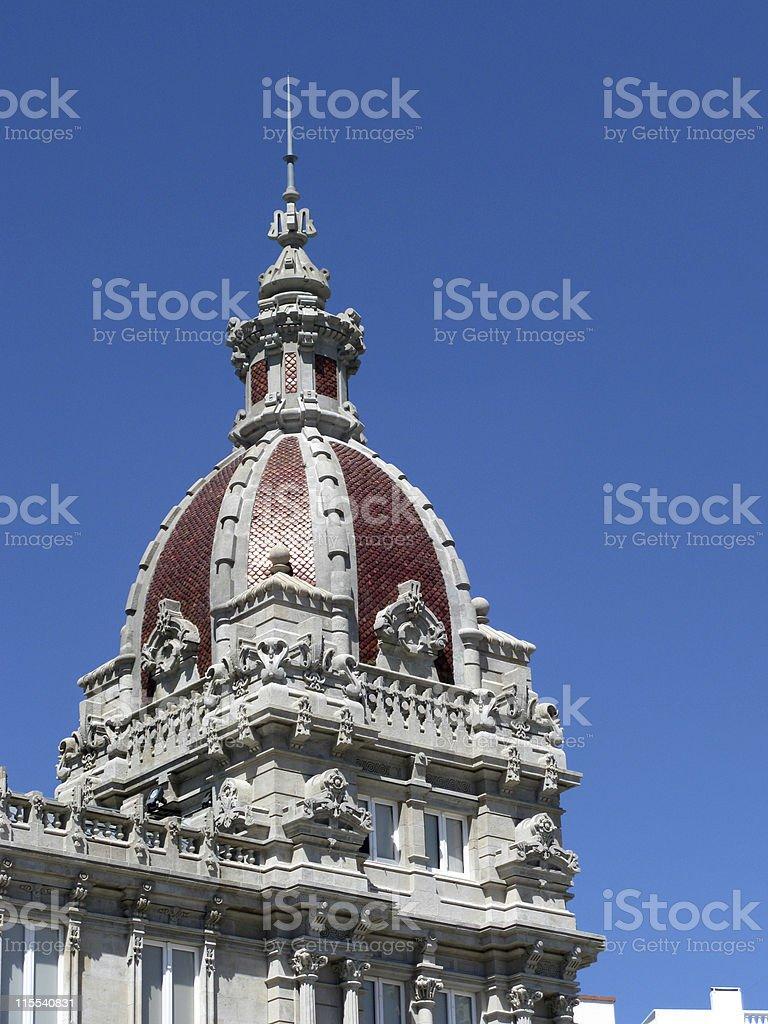 Ornamental dome stock photo