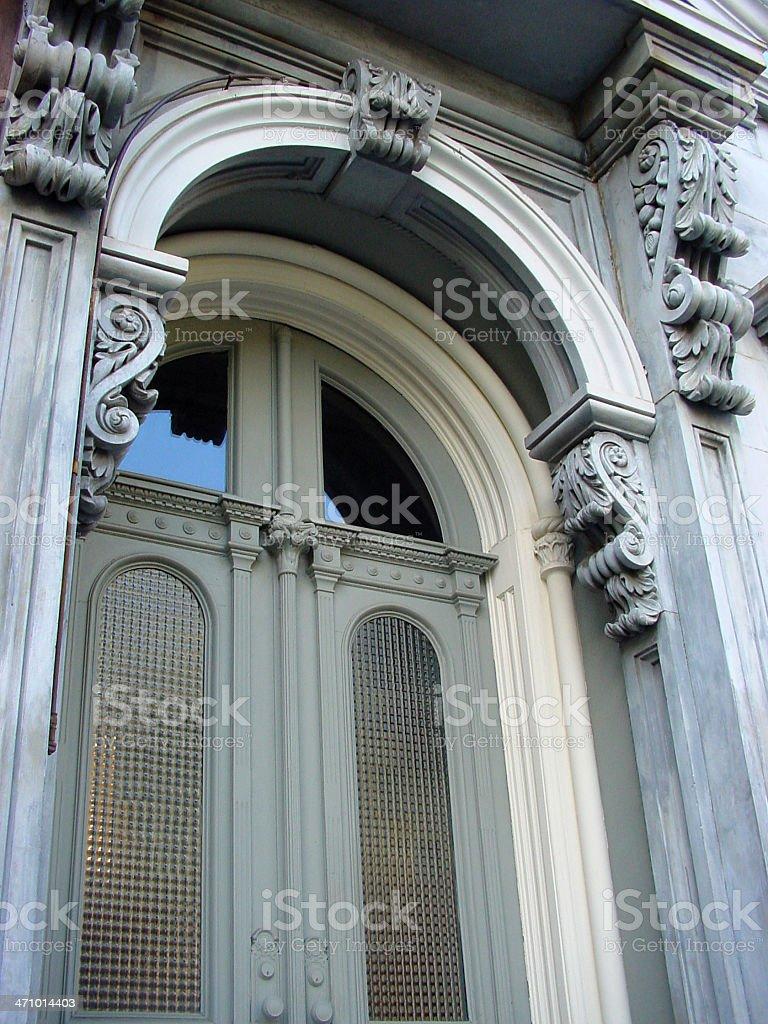 ornamental doors stock photo