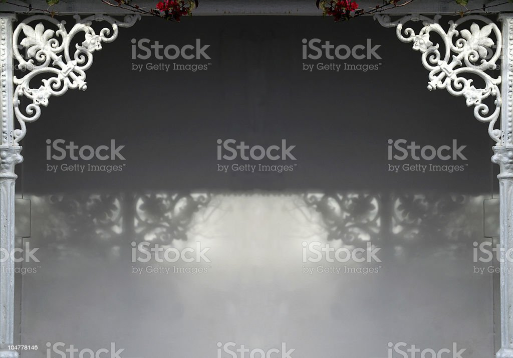 Ornamental  entrance XL royalty-free stock photo