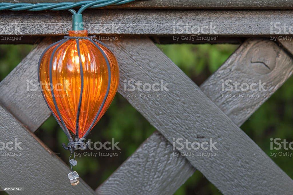 ornamental light stock photo