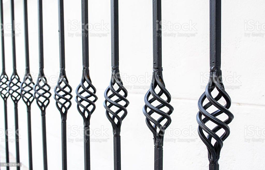 Ornamental Railings stock photo