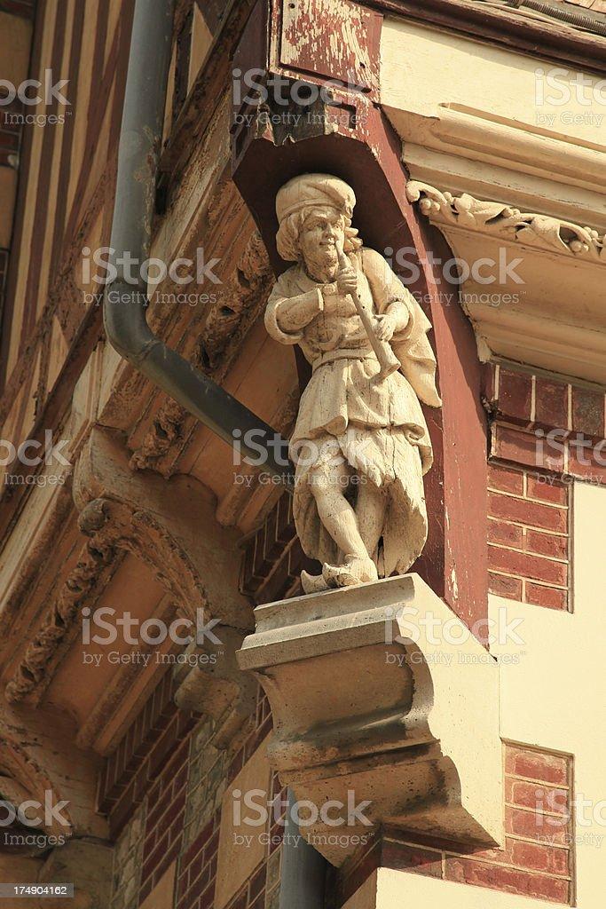 Ornamental statue royalty-free stock photo