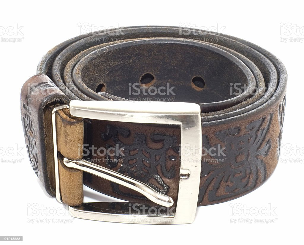 ornamental strap royalty-free stock photo
