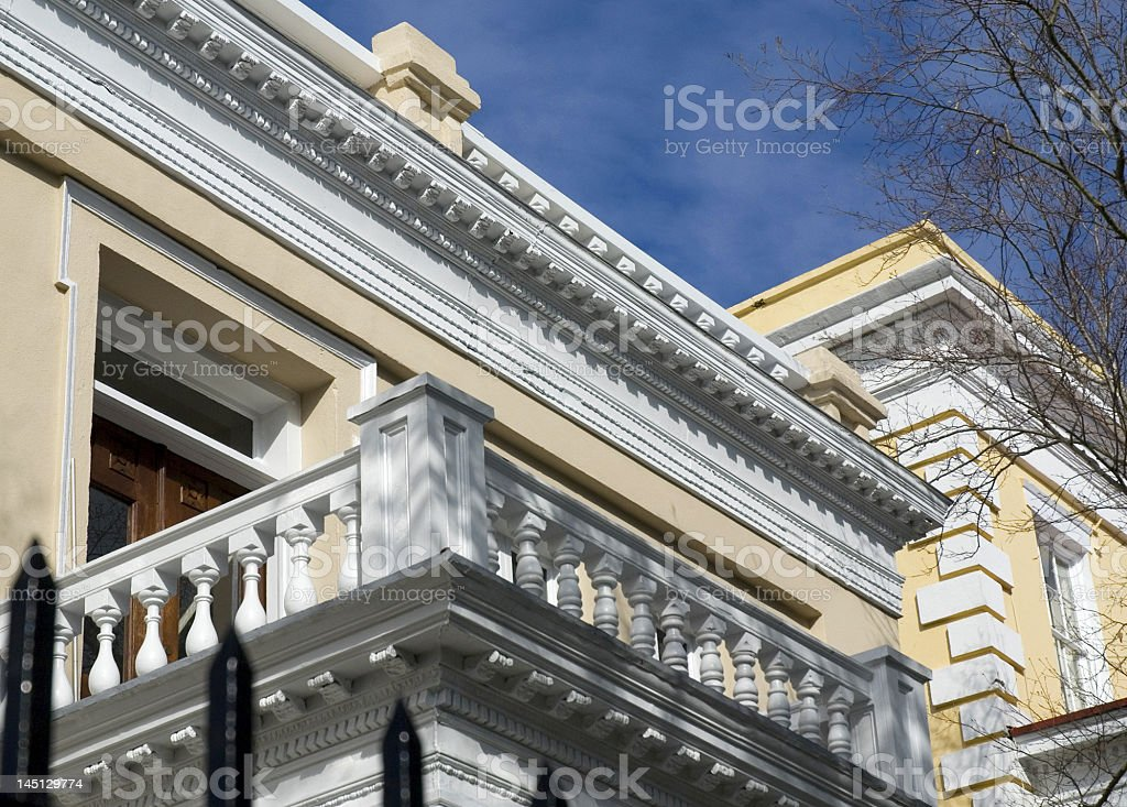 Ornamentation on Roofs and Terraces royalty-free stock photo