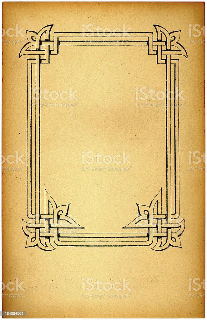 ornate border royalty-free stock photo